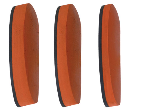 Real rubber recoil pads 25 20 15