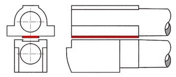 rifled barrels Longitudinal