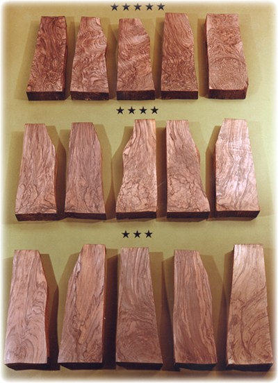 walnut blanks